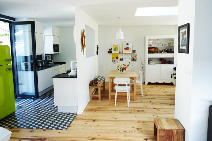 L 39 agencement des pi ces architecte de maisons for Cuisine salle a manger ouverte