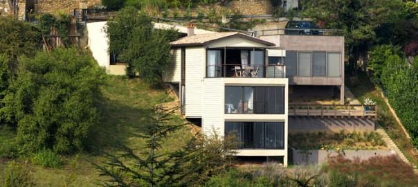 Architecture de maison et int gration au site architecte for Site de conception de maison