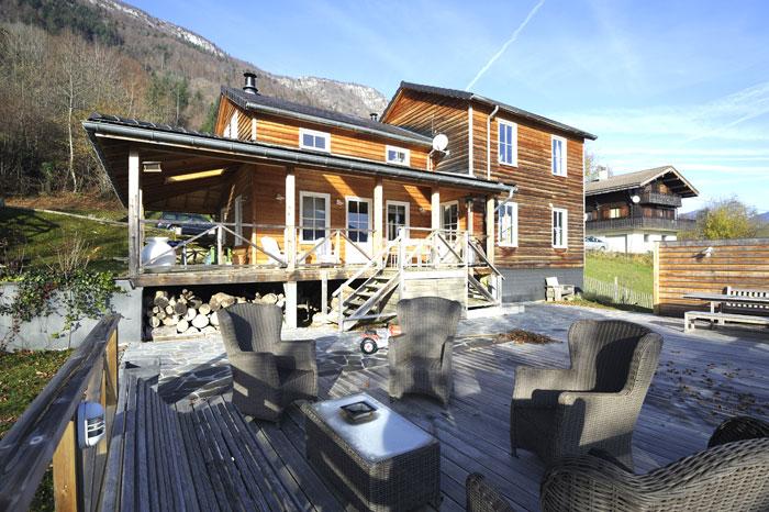 Terrasse créée après la maison