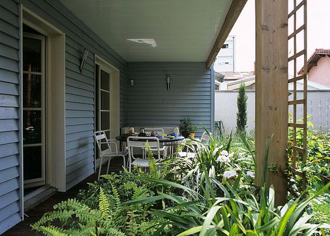 Petite terrasse couverte