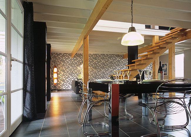 Architecture d 39 int rieur architecte de maisons for Salle a manger loft