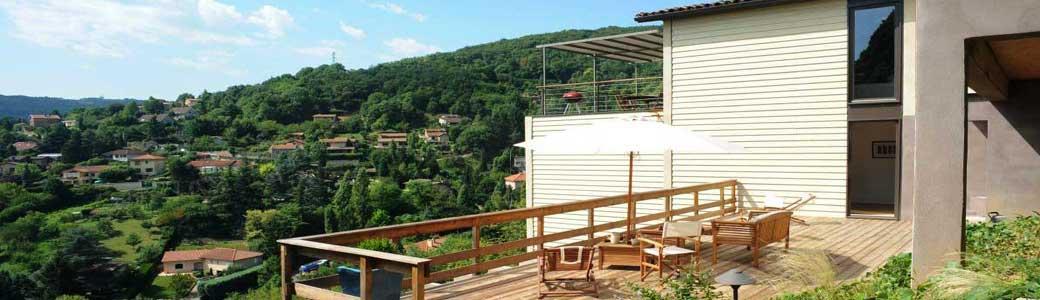 Jardin, terrasse, piscine et extérieur