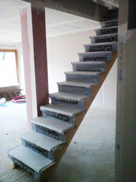 Escalier au premier étage