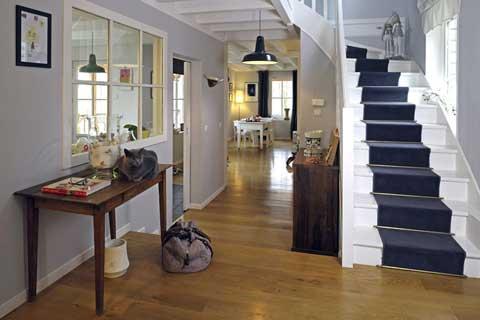 Agencement des pièces d'une maison et architecture d'intérieur