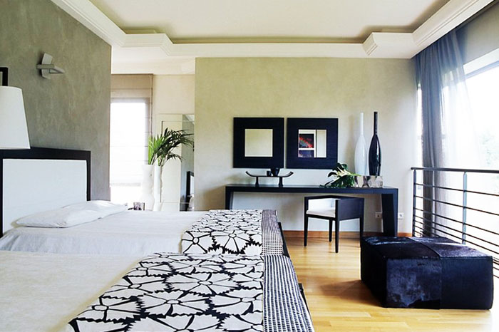 Grande chambre contemporaine