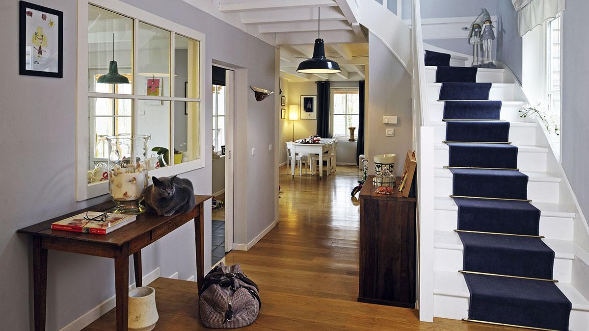 Agencement d'accès aux différentes pièces d'une maison