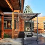 La maison en bois (photos)