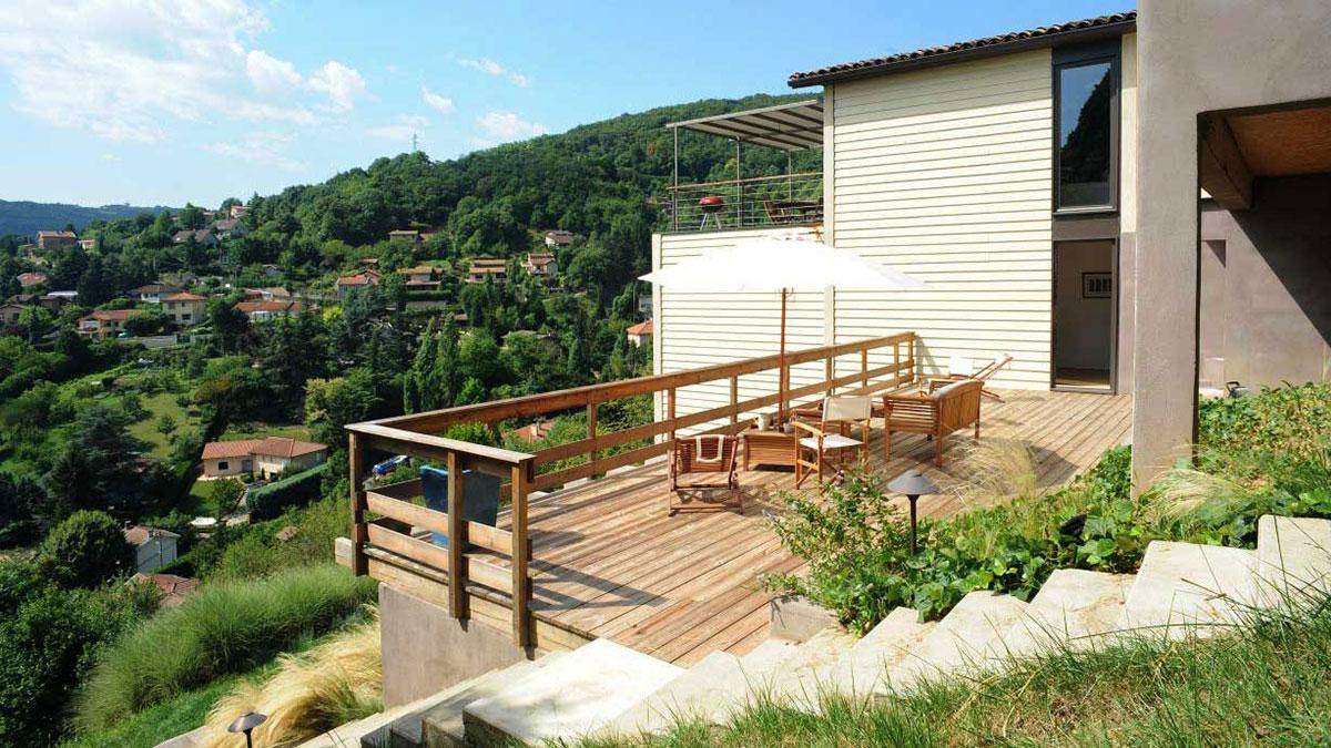 Jardin Sur Une Terrasse jardin, terrasse, piscine et extérieur (photos) - architecte